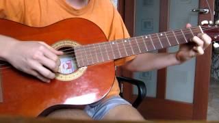 Собачий вальс на гитаре
