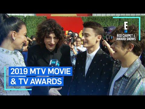 """Stranger Things"" Cast Teases Intensified Season 3  E Red Carpet & Award Shows"