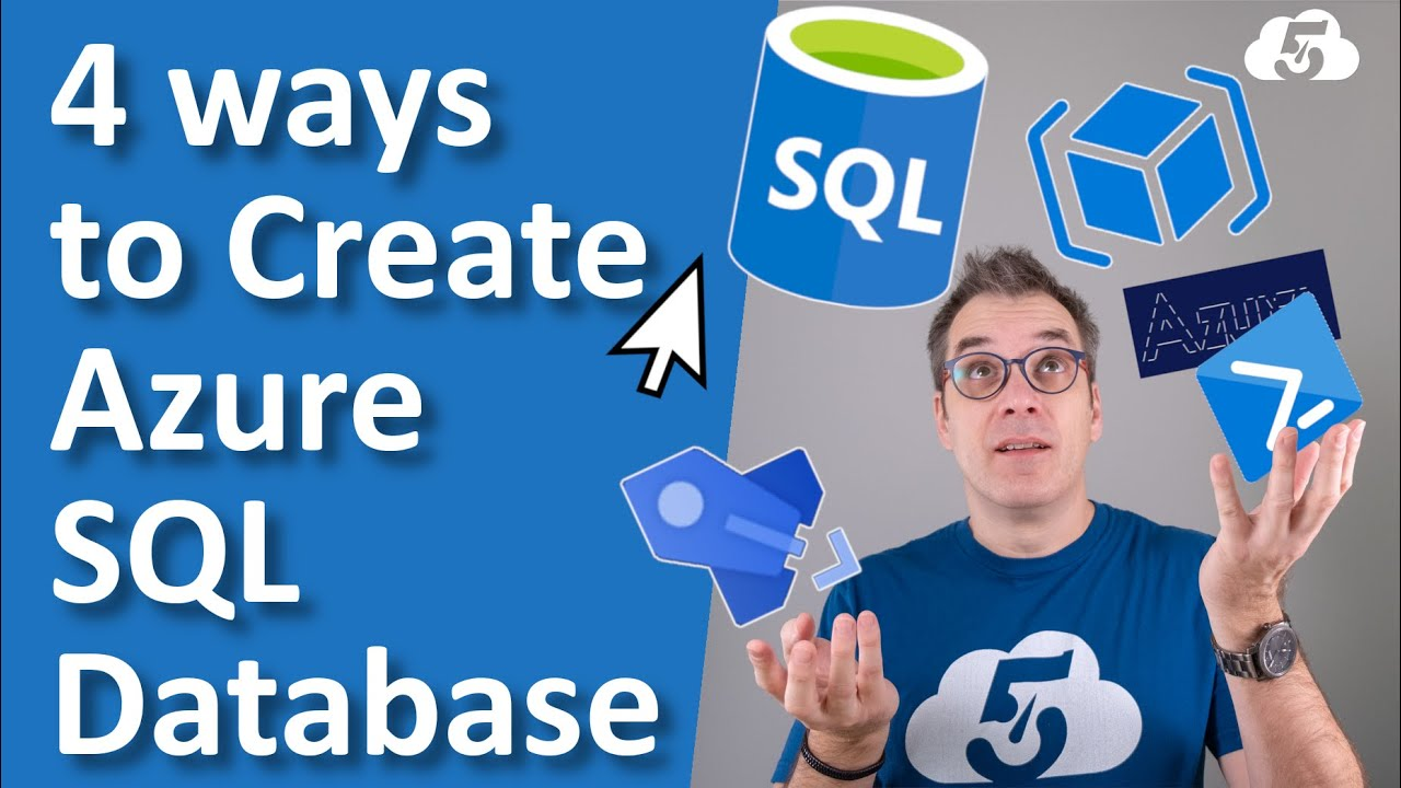 4 ways to create an SQL Database in Azure