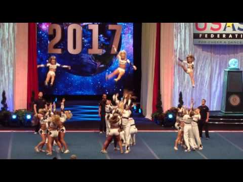 2017 Worlds Finals Rockstar Cheer Beatles Senior Medium Coed