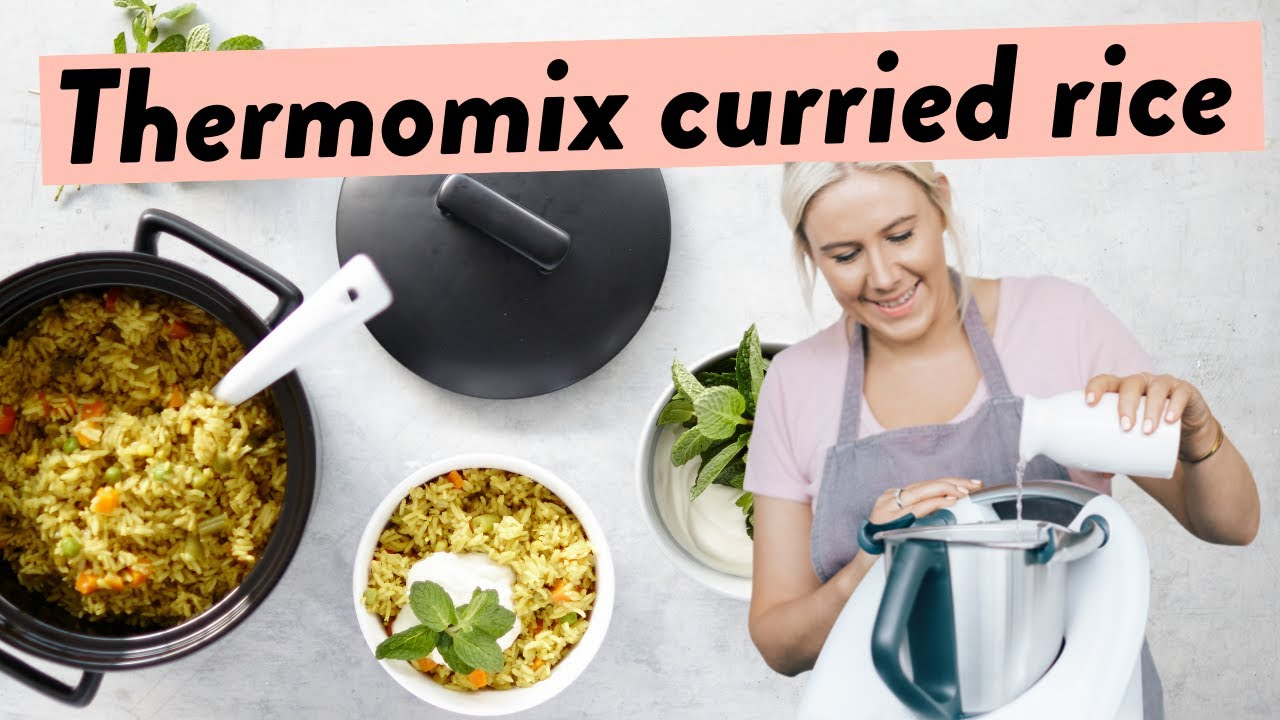 Curried rice in thermomix youtube curried rice in thermomix forumfinder Choice Image