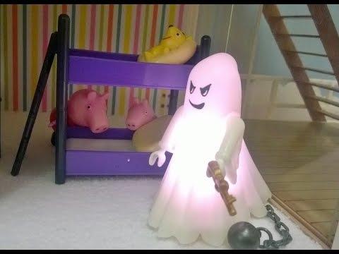 Bajka Świnka Peppa po polsku. Przerażający duch mieszka w nowym domu Peppy