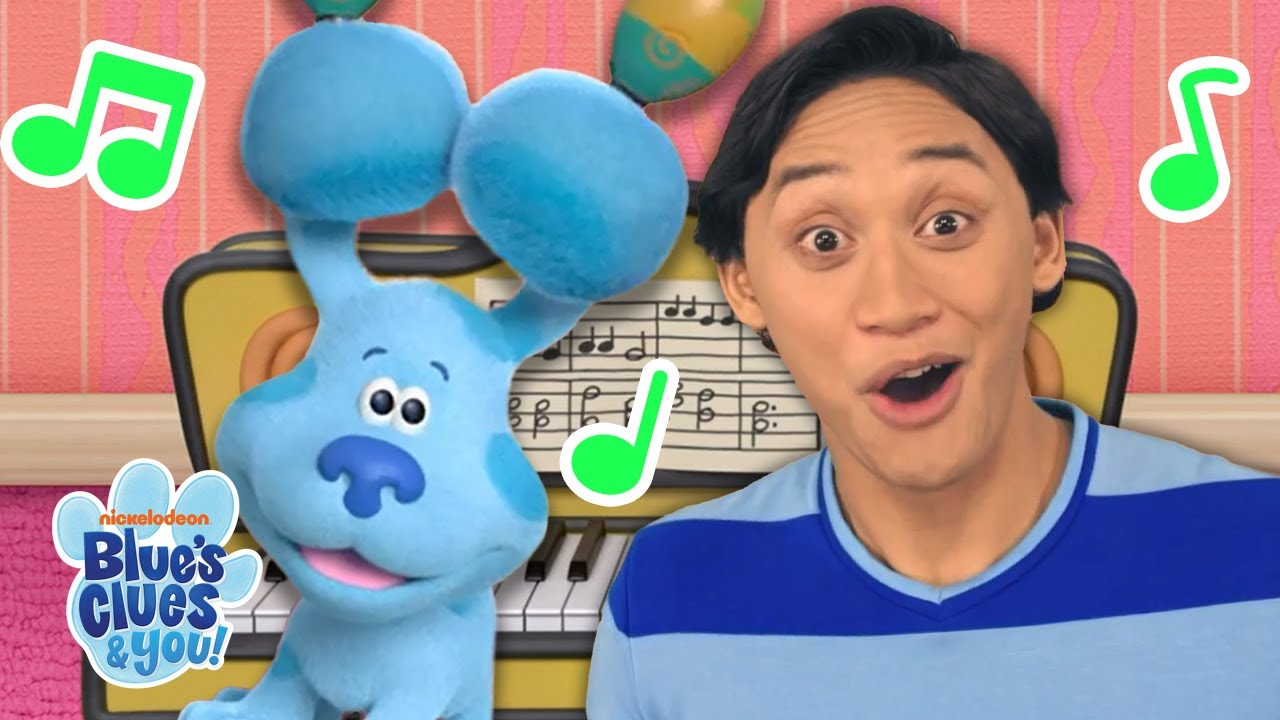 Singing + Playing Piano With Josh & Blue 🎹 !   Blue's Clues & You!