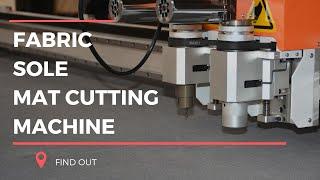 Fabric, Mat, Shoe Sole, Sign & Logo Cutting CNC Knife Machine | OMNICNC