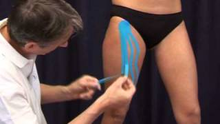 Lymf Taping met CureTape kinesiology tape | Medical Taping Concept