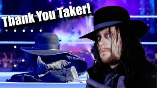 5 Reasons it's a GOOD THING The Undertaker Retired