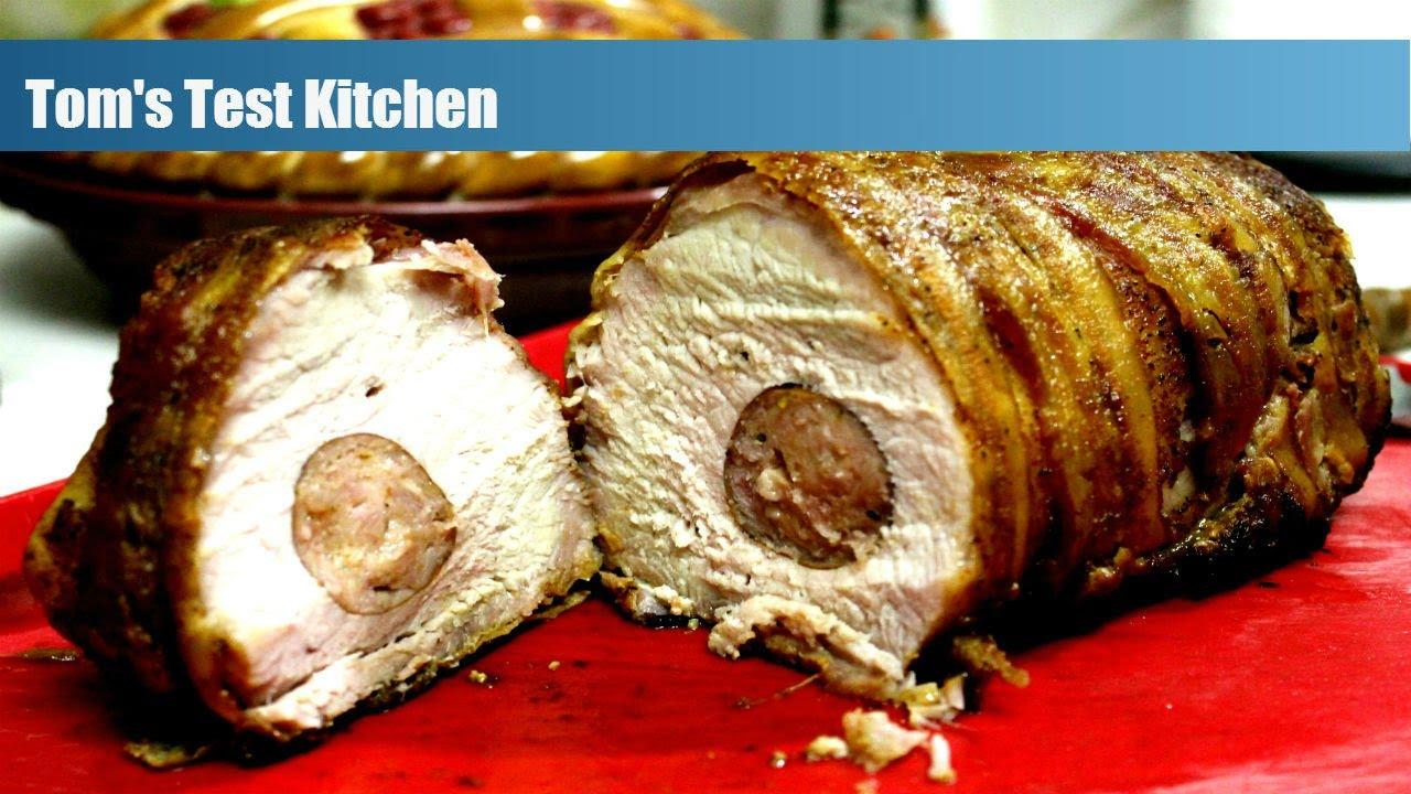 Sausage Stuffed Pork Roast
