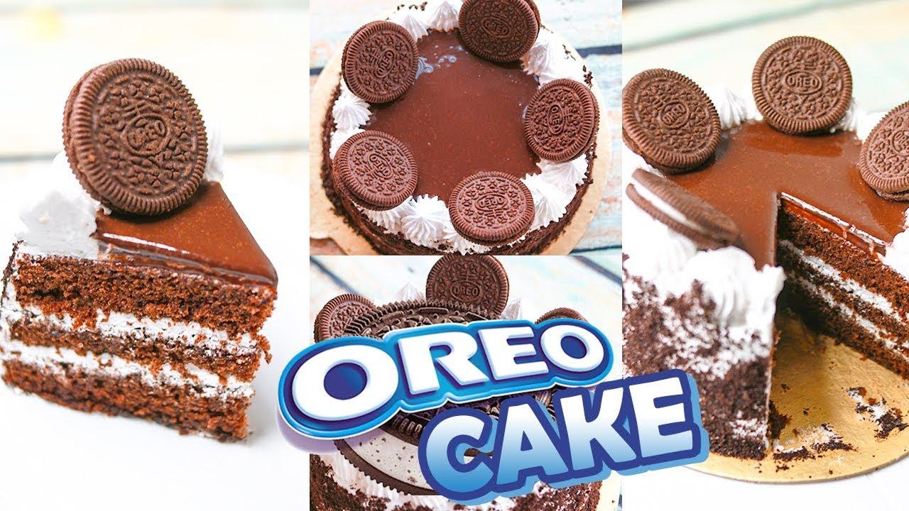 Oreo Cake Recipe Without Oven | Oreo Cake Recipe | Yummy ...
