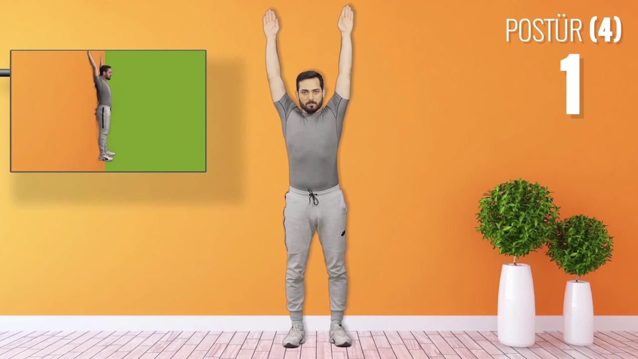 ankilozan spondilit postür egzersizleri youtube