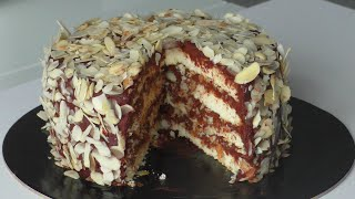 Ореховый торт Точно понравится и получится Успешный кондитер