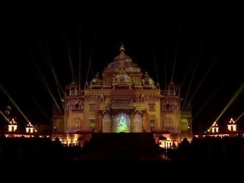 Festival of Light to Celebrate 25 years of Swaminarayan Akshardham, Gandhinagar, India