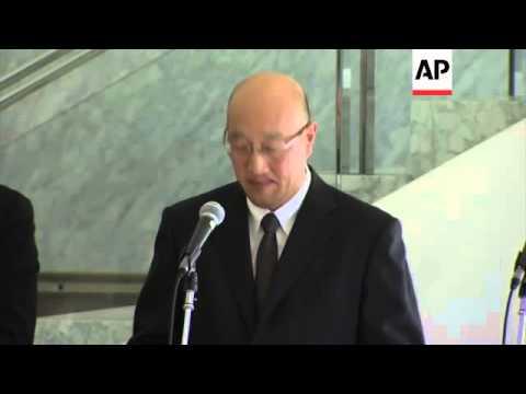 Prime Minister Abe on Algeria crisis; JGC Corp news conference