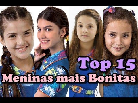 Top 15 Meninas Mais Bonitas Da Novela Chiquititas