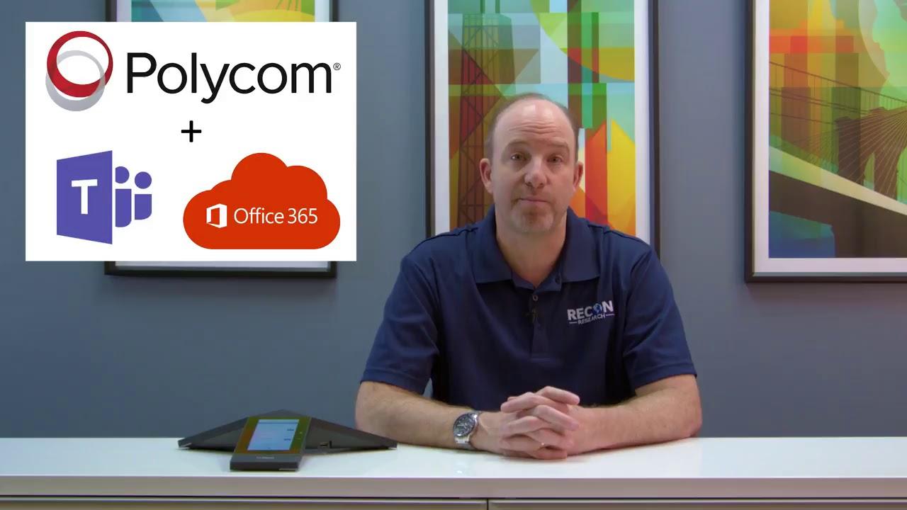 Podpora Microsoft Teams na Polycom Trio konferenčnih aparatih in ostale novosti