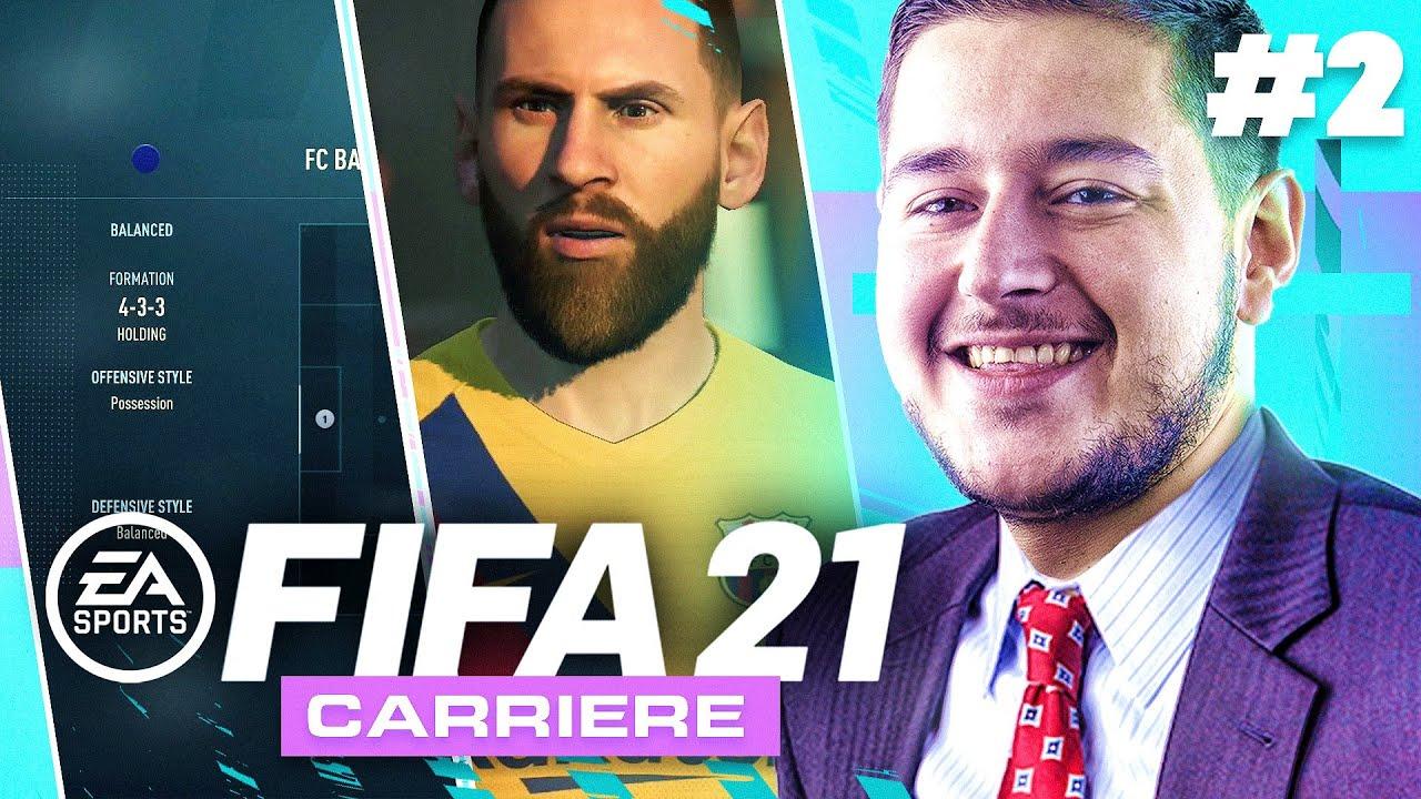CARRIÈRE FIFA 21 #2 : LA MSN EST DE RETOUR ! (Messi, Son, Neymar)