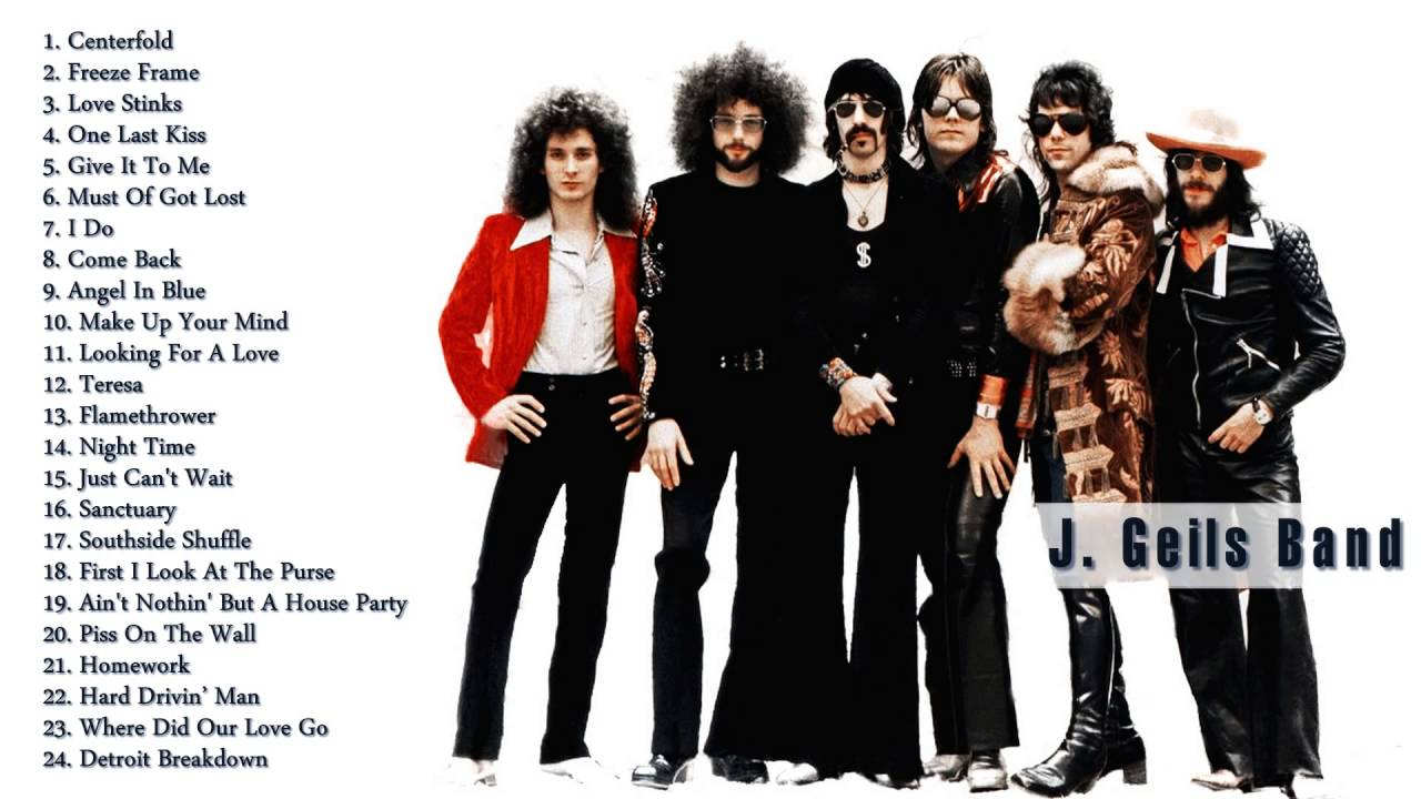 J. Geils Band Gretest Hits | The Best Of J. Geils Band (Full Album ...