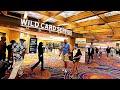 Walking Through Inside Hard Rock Hotel Casino At Atlantic City, NJ