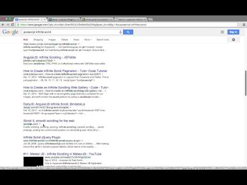 Infinite Scroll for Google™