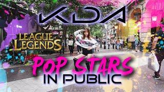 【K/DA - POP/STARS IN PUBLIC】League Of Legends By Ellen Kim Choreography