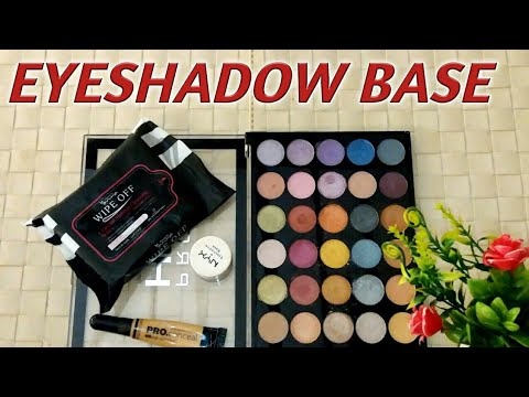 How to apply  eyeshadow perfectly with base for beginners|| Eyeshadow Parlor secret