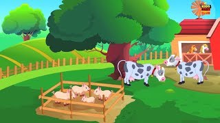 alten MacDonald Bauernhof Kinderreime Bildungs Lieder Preschool Songs Old MacDonald Had A Farm