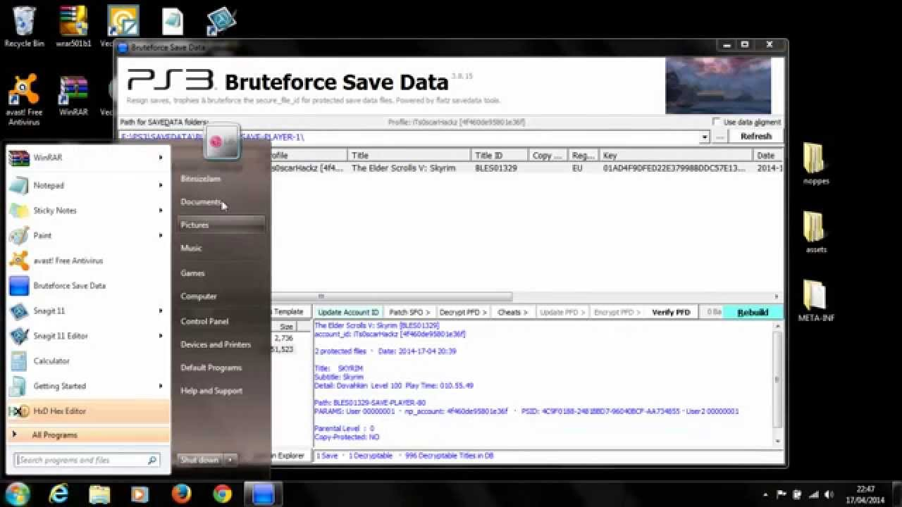 Ps3 Bruteforce Save Data 42