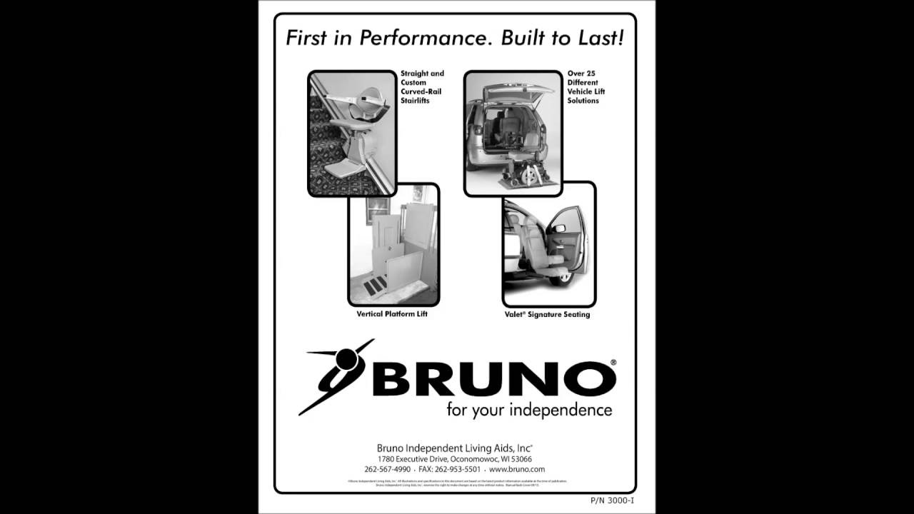 Bruno Elan Sre 3000 Stair Lift Installation Manual As A