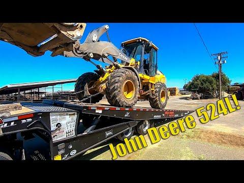John Deere 524L Loader Transport | Start To Finish + Driving Footage!
