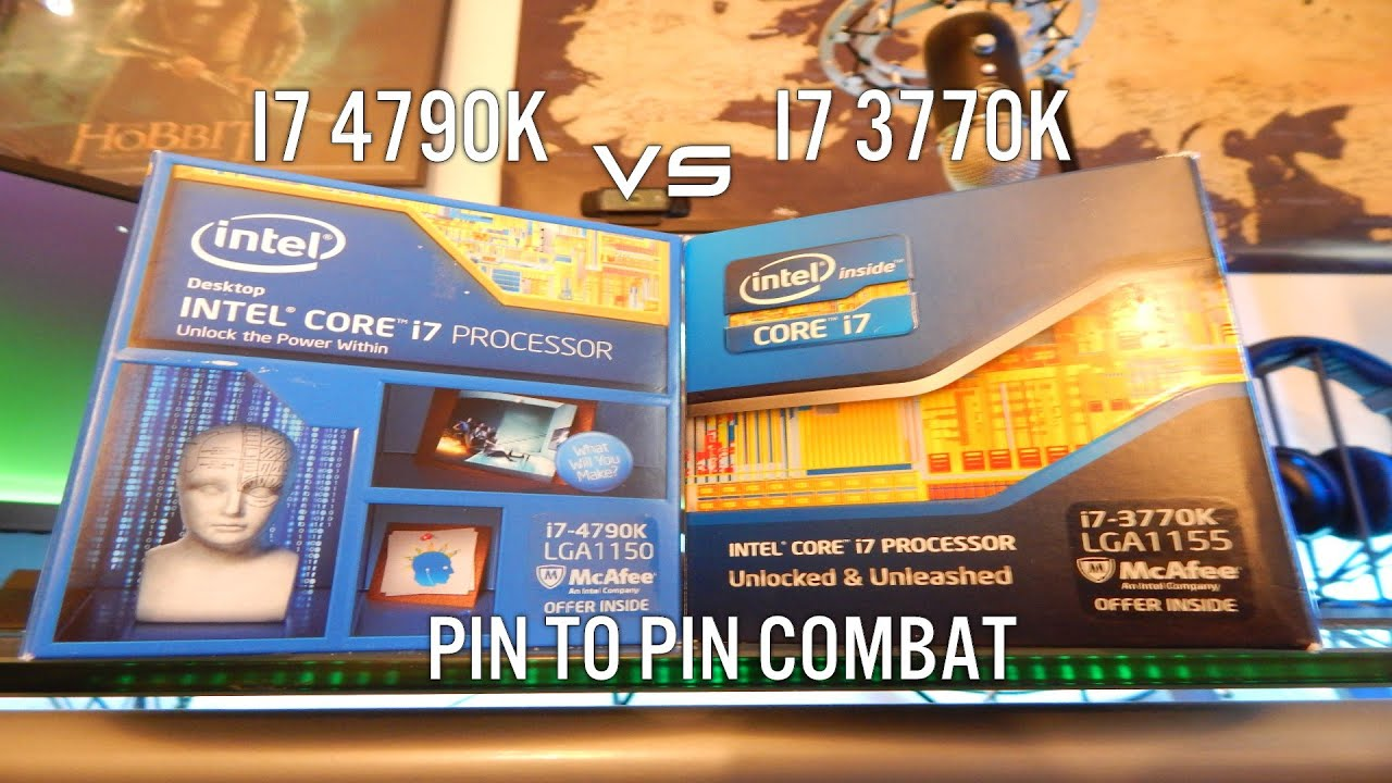 Intel Core i7 4790k - Worth the Upgrade? - vs 3770k