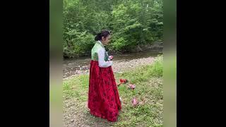 «Миллион алых роз» на корейском языке и русском - Ирина Ким