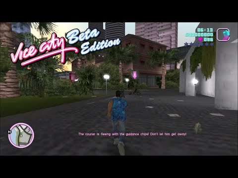 Vice City BETA Edition V3.5 - Gameplay Clips