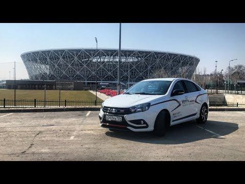 НОВАЯ LADA VESTA SPORT 2019 ТЕСТ-ДРАЙВ!VLGavto