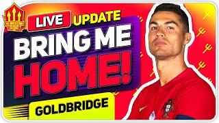RONALDO United Return? POGBA Transfer Race! Man Utd Transfer News