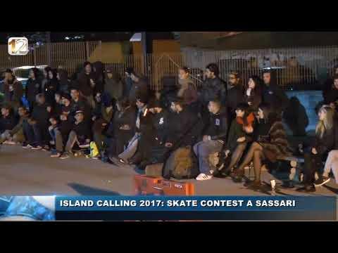 ISLAND CALLING SKATE CONTEST A SASSARI