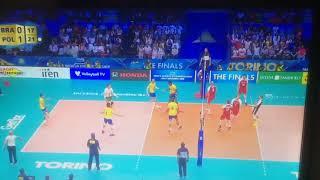 Download Video Najlepsza akcja Polaków mistrzostwa świata 2018 Polska - Brazylia MP3 3GP MP4