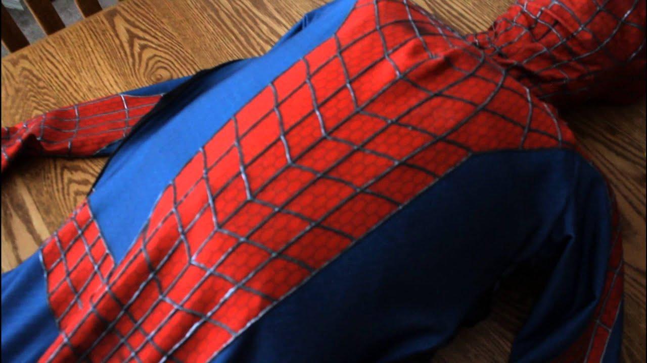 & The Amazing Spiderman 2 Suit Replica in Progress - YouTube