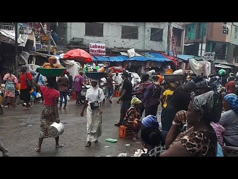 Shopping in Lagos island market | My Trip To Lagos Nigeria