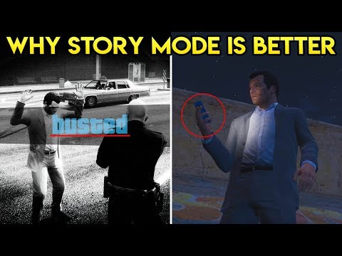 10 REASONS WHY GTA 5 STORY MODE IS BETTER THAN GTA ONLINE