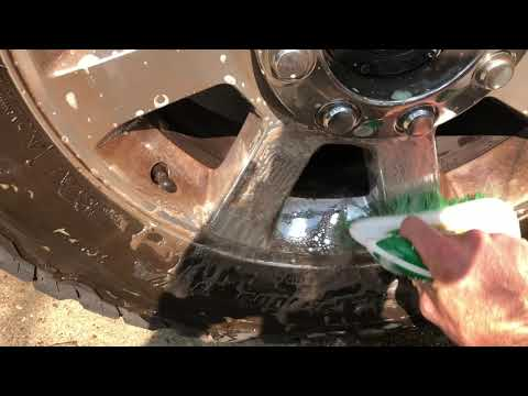 Easiest Way To Clean Brake Dust Off Of Your Wheels And Tires
