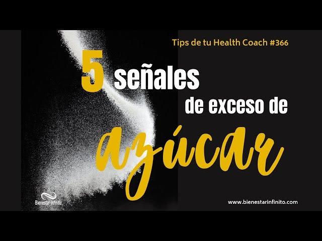 5 señales de exceso de azúcar