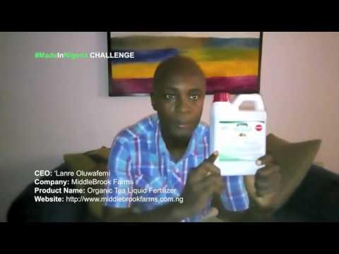 #MadeInNigeria - Organic Tea Liquid Fertilizer
