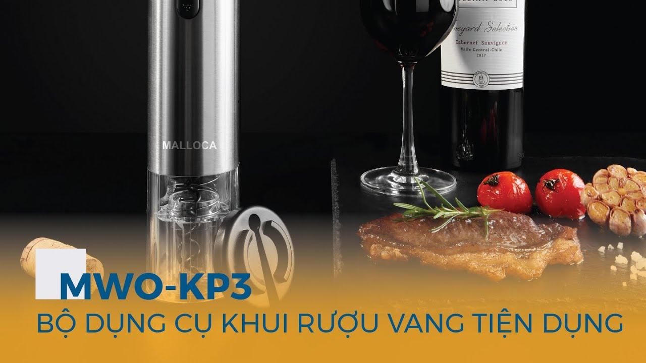 Bộ dụng cụ khui rượu vang MWO-KP3 Malloca