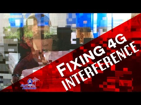How To Fix Interference from 4G Signals in Your TV
