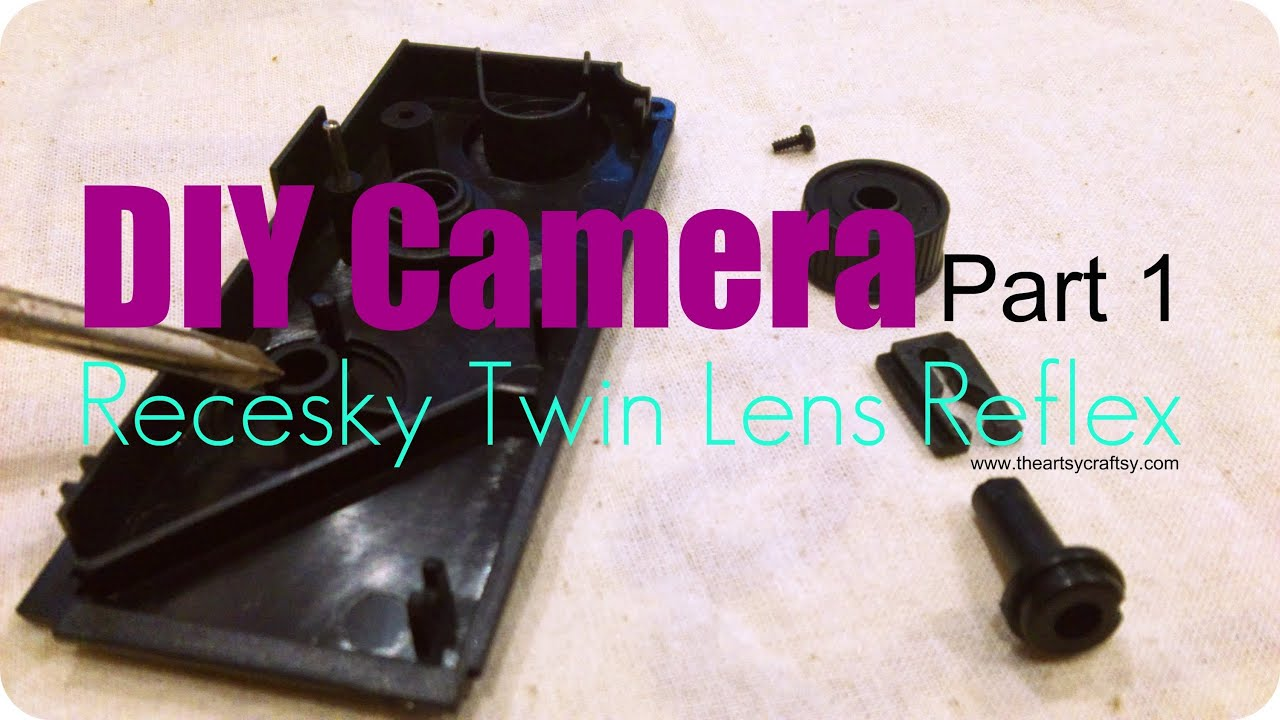 Diy Recesky Twin Lens Reflex Camera Part 1 Youtube Fotodiox Lomo Tlr Kit