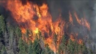 Enormes feux de forêt dans l'ouest des Etats-Unis