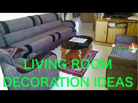 Indian Living Room Decorating Ideas || How To Decorate Small Living Room || Living Room Tour