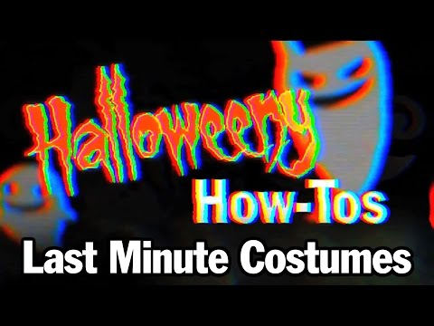 Easy Last Minute Halloween Costumes For 2014