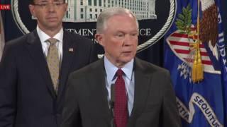 "REPORTER ASK JEFF SESSIONS: ""HOW CAN YOU SERVE IF YOU DON`T HAVE THE CONFIDENCE IN PRESIDENT TRUMP""?"