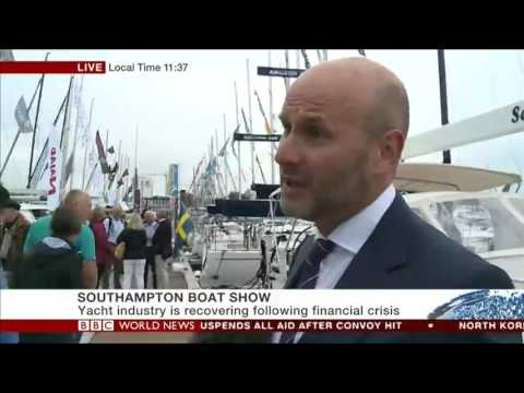 IBI editor Ed Slack speaks to BBC World News at Southampton