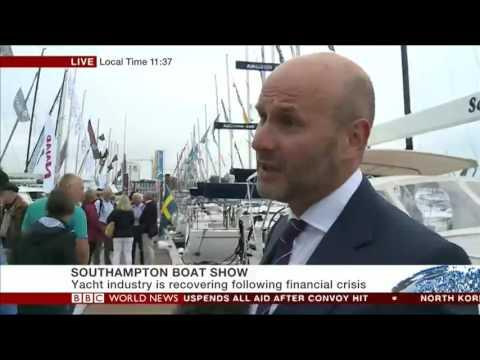 IBI editor Ed Slack speaks to BBC World News at Southampton